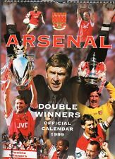 ARSENAL FOOTBALL CLUB 1999 CALENDAR OFFICIAL