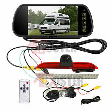 "7"" Rear View Mirror Monitor+Nightvision Backup Camera for Mercedes-Benz Sprinter"