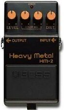 BOSS HM-2 HEAVY METAL DISTORTION GUITAR EFFECTS PEDAL BLACK LABEL JAPAN MIJ 1984
