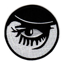 CLOCKWORK ORANGE EMBROIDERED IRON ON PATCH alex eye sci fi classic