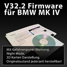 BMW & Mini Navigation Firmware V32.2 neueste Version Blitzer Warnung & Nightmode
