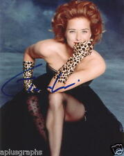 TEA LEONI.. Fierce in Fishnets - SIGNED