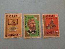 stamps - Ethiopia - A161 #768-770(3) Telephones - MINT