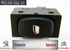 PEUGEOT 307 & 407 Single Electric Window Switch Part # 96 360 166 XT