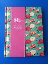 Pretty Royal Horticultural Society;peonies and butterflies A5  Notebook