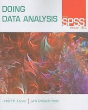 Doing Data Analysis with SPSS: Version 18.0, Nash, Jane Gradwohl, Carver, Robert