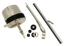 Stainless Steel Windshield Wiper Kit, Universal Application 12V Motor
