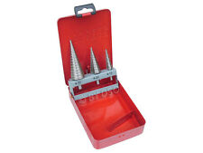 AIRCRAFT TOOLS NEW 3PC CHRISTMAS TREE/CONE CUTTER SET FOR HOLES IN SHEETMETAL