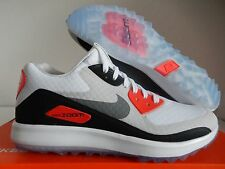 NIKE AIR ZOOM 90 IT GOLF SHOES WHITE-GREY-NEUTRAL GREY SZ 10.5 [844569-101]