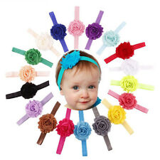 18 PCS Kids Girls Baby Toddler Infant Flower Headband Hair Bow Band Accessories