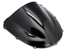 SMOKE BLACK TRANSPARENT DOUBLE BUBBLE WINDSCREEN FOR 2002-2003 HONDA CBR954RR