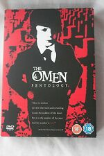 The Omen Pentology (DVD, 2006, 5-Disc Set, Box Set)