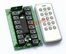 Dc 12v relay 15CH wireless RF Remote Switch Transmitter+ Receiver F/ LED LAMP