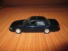 Blank Blue Ford Crown Vic Road Champ 1/43 for customizing Police cars