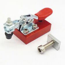 Engraving Carving Machine Fastening Platen CNC Router Fixture Quick Clamp Chuck