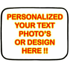 New Personalized Custom Your Logo Design Photo Text Mini Fleece Blanket
