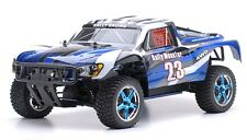 1/10 RC Rally Monster Nitro Gas RTR Off Road Short Course Truck 4WD Stripe Blue