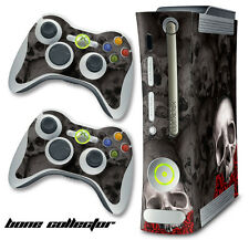 Skin Decal Wrap for Xbox 360 Original Gaming Console & Controller Xbox360 BC B