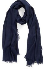 Nordstrom Women's Wool & Cashmere Wrap Navy $98 cgr