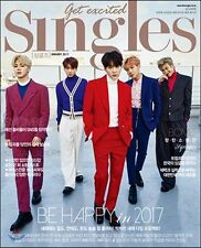 BTS Cover & Photo 36pages Included - Singles Full MAGAZINE 2017 January
