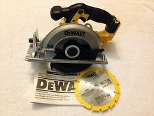 "New Dewalt DCS391B 20V 20 Volt Max Cordless 6-1/2"" Circular Saw With Blade"