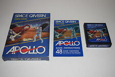 +++ SPACE CAVERN Atari 2600 Video Game COMPLETE in BOX TESTED Apollo Blue