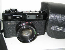 YASHICA ELECTRO 35 ELECTRO35 GT BLACK SERVICED 100% FUNZIONANTE FULLY WORKING