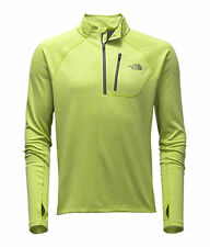 THE North Face Men'S Impulso attivo 1/4 Zip Camicia L/S in esecuzione Top chive Verde M