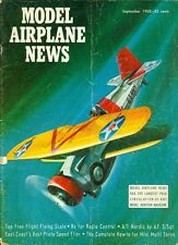 1962 Model Airplane News Magazine: Top Free Flight Flying Scale/A-1 Nordic A.F.