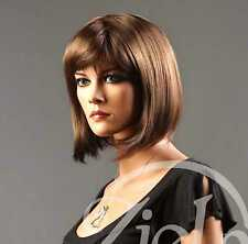 Forever Young Ladies Short Straight Toasted Light Brown Wig! Bob Style Full Wig