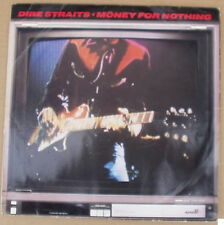 "Dire Straits Money For Nothing solid centre  UK 10"" single +Picture Sleeve"