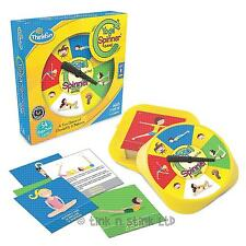 ThinkFun Yoga Spinner Game Educational Game with Cards for Children Age 4+