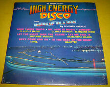 PHILIPPINES:HIGH ENERGY DISCO LP,Record,Vinyl,RARE,Claudja Barry.Seventh Ave.