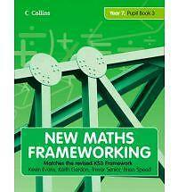 New Maths Frameworking - Year 7 Pupil Book 3 (Levels ..., Speed, Brian Paperback
