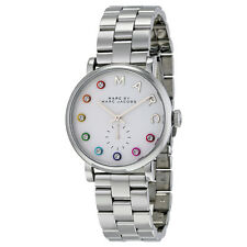 Marc by Marc Jacobs Silver Dial Stainless Steel Mens Watch MBM3420
