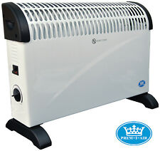 2000W 2kW Portable Electric Thermostat Convector Radiator Heater For Home Office