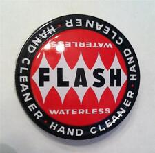 Flash Waterless Hand Cleaner Tin Unused Unfilled Old Stock  New Old Stock