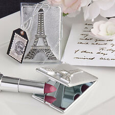 50 Eiffel Tower Mirror Compacts Bridal Shower Favor Paris Theme Party Favors