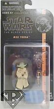 "YODA Star Wars The Black Series 3 3/4"" inch Action Figure #22 Series 4 2014"