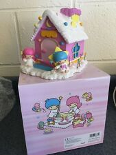 New Sanrio Vintage Little Twin Stars Coin Bank NIB Hello Kitty and Friends Rare