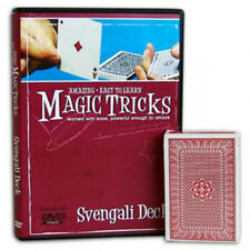 Amazing Easy to Learn Svengali Magic Tricks - Instructional DVD with Deck - New
