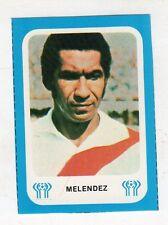 figurina - ARGENTINA 78 ED.GAZZETTA - PERU MELENDEZ