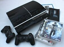 PlayStation 3 Video Game Systems Console w/Controller with Bundled Games
