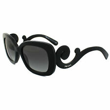 Prada Sunglasses 27OS 1AB3M1 Black Grey Gradient