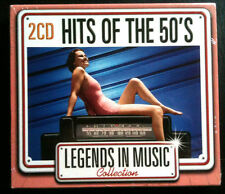 LEGENDS IN MUSIC COLLECTION - HITS OF THE 50'S - 2 CD NEUF -