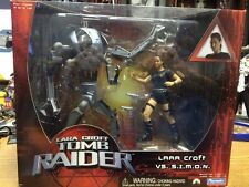 Lara Croft Tomb Raider- Lara Croft vs.S.I.M.O.N. Figures