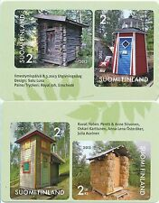 Finland 2013 MNH Sheet Funny Beautiful Outhouse Privy Closet Issued Mar 8, 2013