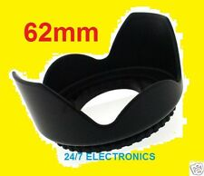 PRO FLOWER LENS HOOD 62mm fit SIGMA 28-300mm 30mm F 1.4 EX , NIKON 70-300mm