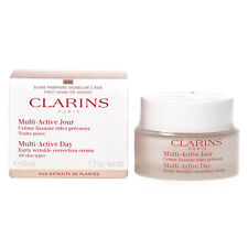 CLARINS MULTI-ACTIVE DAY EARLY WRINKLE CORRECTION CREAM 50ML ALL SKIN TYPES
