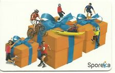 RARE / CARTE CADEAU : DECATHLON - VELO VTT CYCLE CYCLISME SURF CANOE KAYAK ESCAL